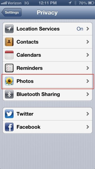 Facebook Photo Upload Not Allowed Lock Icon - 3