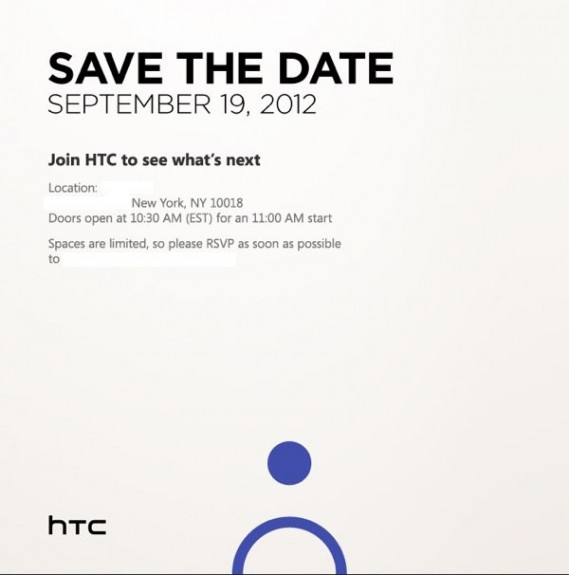 HTC September 19 event