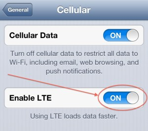 How to Turn Off 4G LTE on the iPhone 5