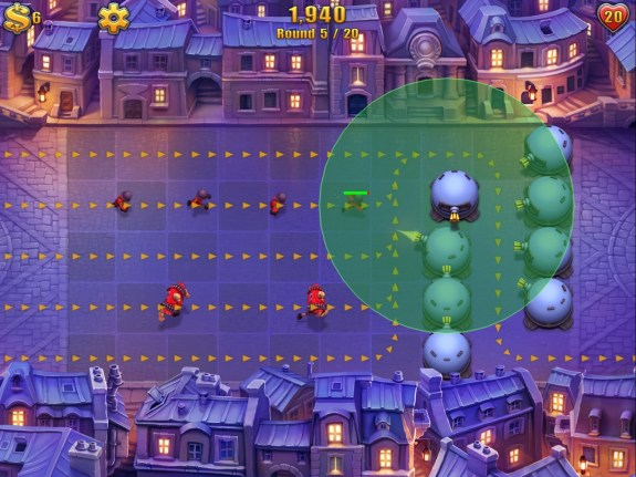 Fieldrunners 2 HD offers new screens to play