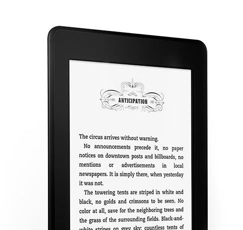 Kindle Paperwhite Text Crisp
