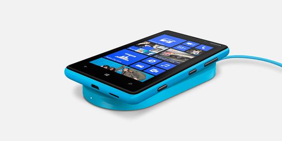 Lumia 820 Wireless Charging