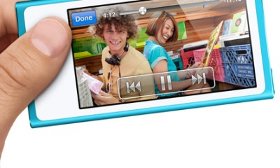 New iPod Nano Widescreen Display