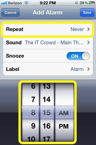 New Alarm
