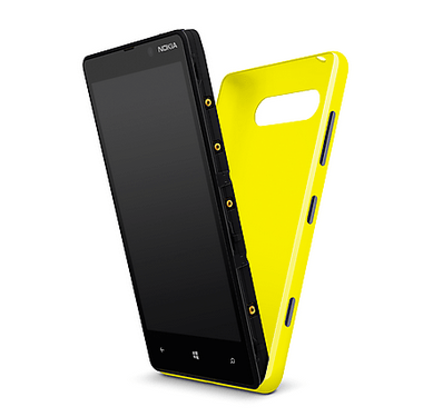 Nokia Lumia 820 Wireless Charging Back.