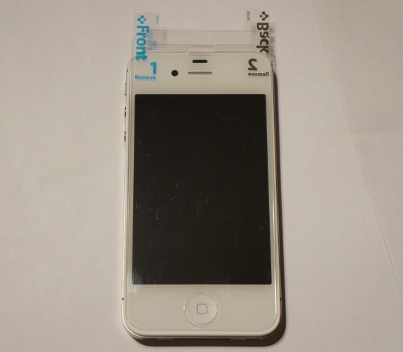Spigen iPhone 5 screen protector 2
