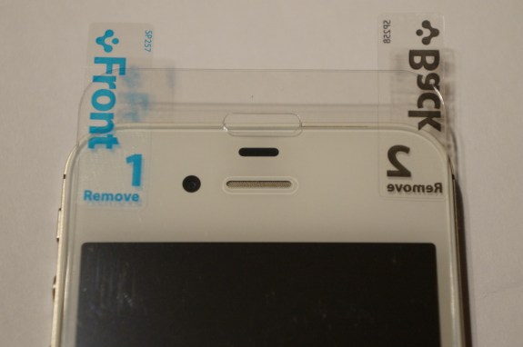 Spigen iPhone 5 screen protector 3