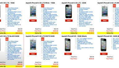 Verizon iPhone 5 pre-orders