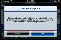 Watch Live NFL iPhone - 2