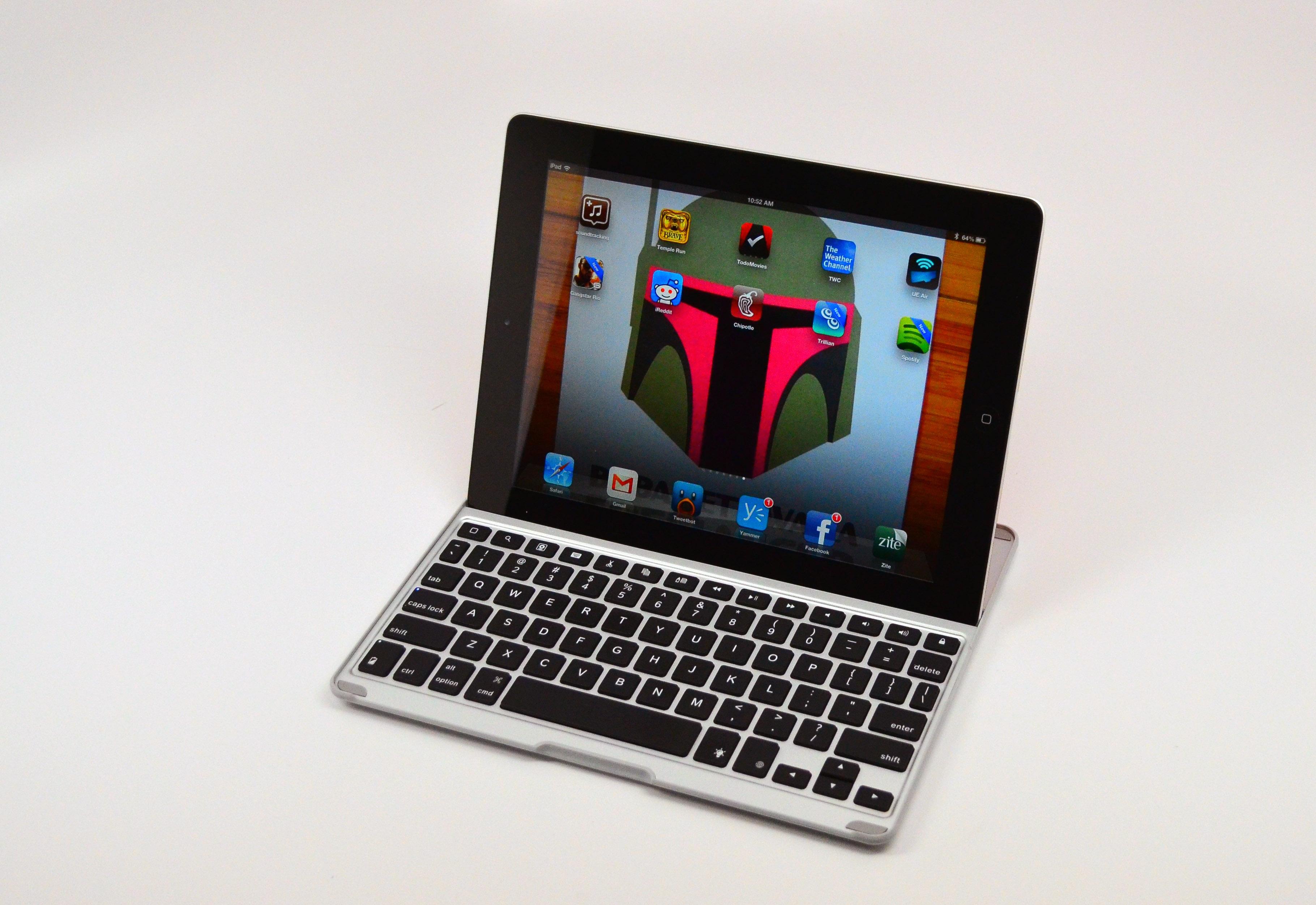 zaggkeys pro plus review backlit ipad keyboard