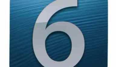 iOS 6 image