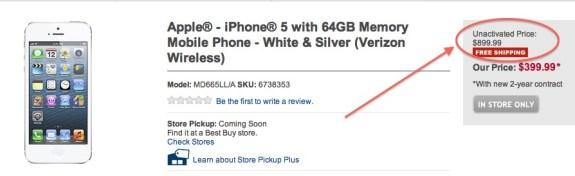iPhone 5 Best Buy