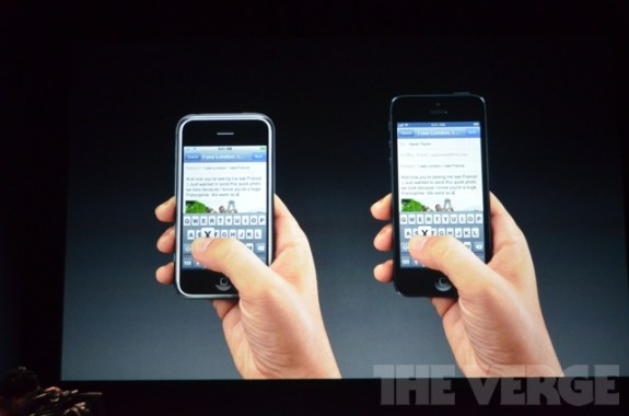 iPhone 5 Display Retina