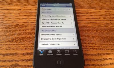 iPhone 5 jailbreak iOS 6
