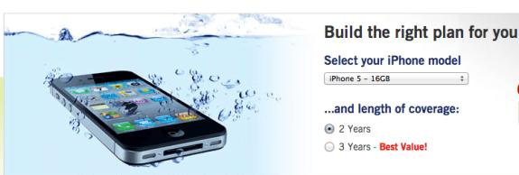 iPhone 5 warranty SquareTrade