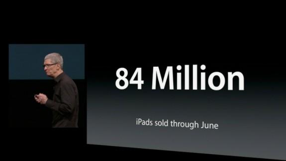 ipads 84 million sold