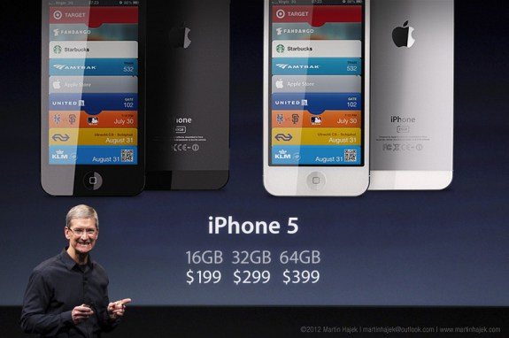 tim Cook Announces the iPhone 5