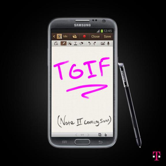 T-Mobile GNote 2