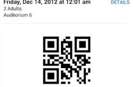 Fandango Ticker Android PassBook