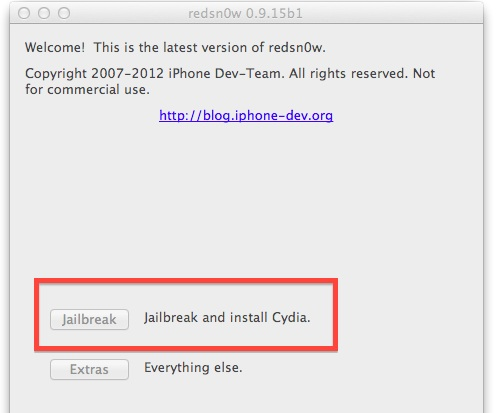 How to jailbreak iOS 6 iPhone 4