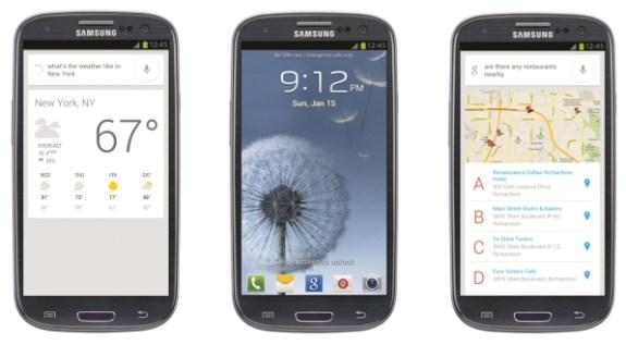 Samsung Galaxy S III with Jelly Bean