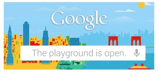 google playground open