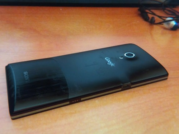 Sony Nexus X back