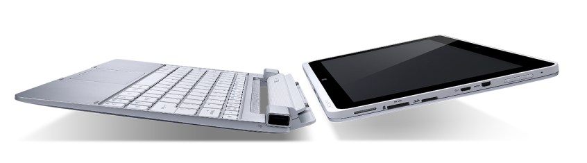 The Acer W510 includes an optional dock.