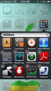 hide app