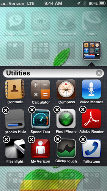 Hide Unused Apps on the iPhone without an iOS 6 Jailbreak