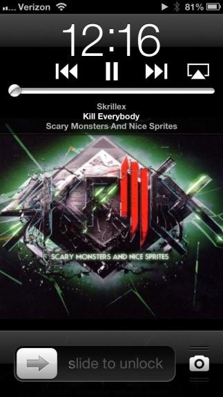 iOS 6 Music Controls