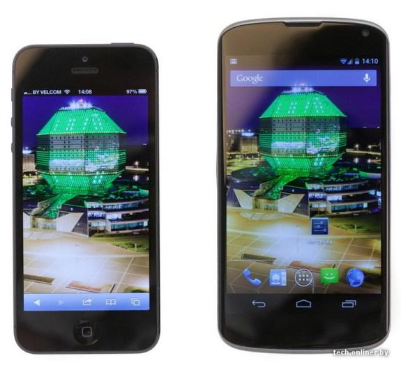 iPhone-5-LG-Nexus-4-comparison-575x524