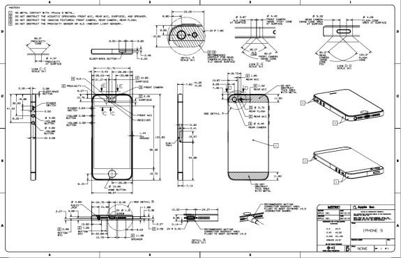 iPhone 5 case dimensions