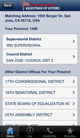 2102 election iPhone sample ballot