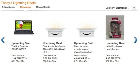Amazon Black Friday Deals 2012