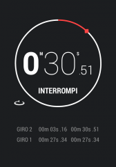 Android 4.2 clock