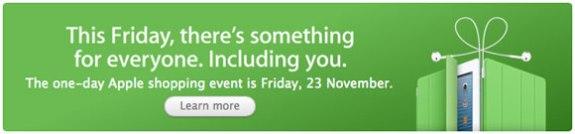 Apple Store Black Friday 2012