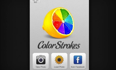 color strokes HD import screen