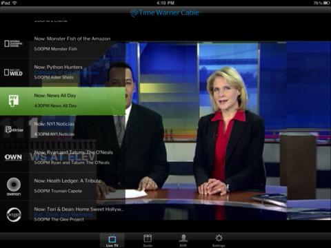 Live TV on Ipad
