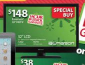 Walmart Black Friday 2012 HDTV deal