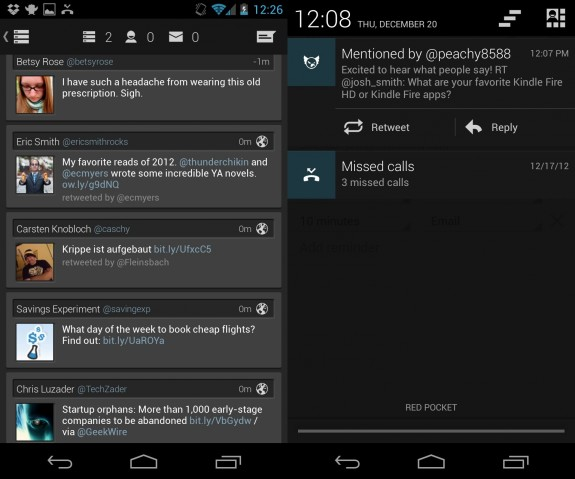 Falcon Pro Review Best Android Twitter App