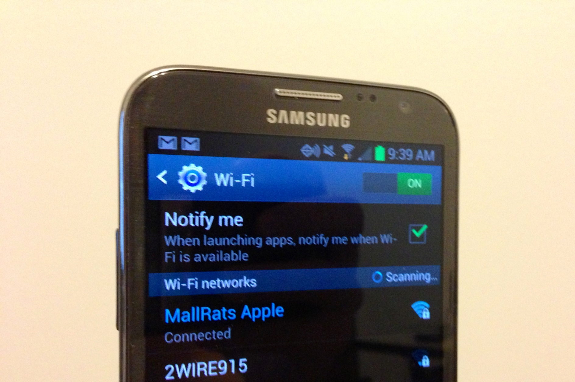 How To Fix Galaxy Note 2 Wifi Problems In 5 Seconds