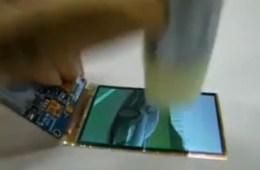 Galaxy S4 unbreakable display