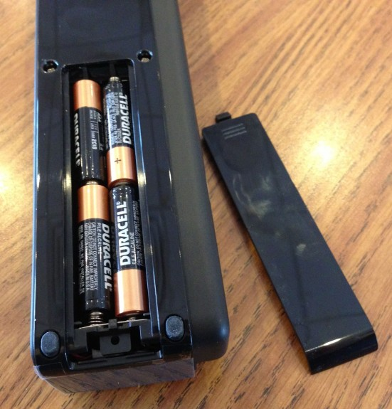 doxie one battery compartment