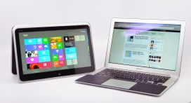 XPS 12 Ultrabook Convertible vs. MacBook Air - 15