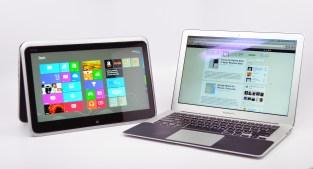 XPS 12 Ultrabook Convertible vs. MacBook Air - 15