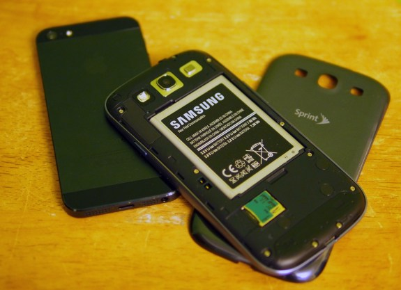 Galaxy S3 vs iPhone 5