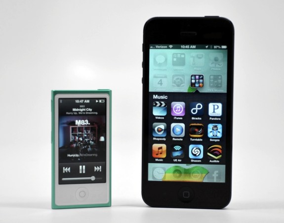 ipod nano review 2012 - No Apps