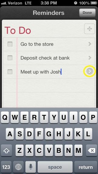 Add Reminder Details