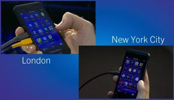 BlackBerry 10 Screen sharing